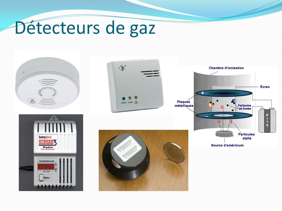 Détecteurs de gaz