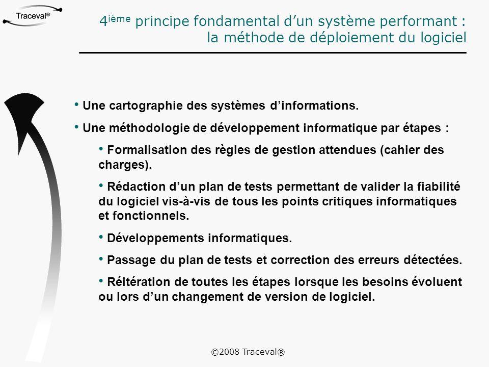 4ième principe fondamental d'un système performant :