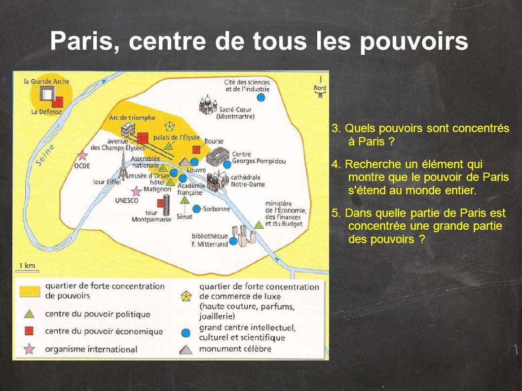 Paris, centre de tous les pouvoirs