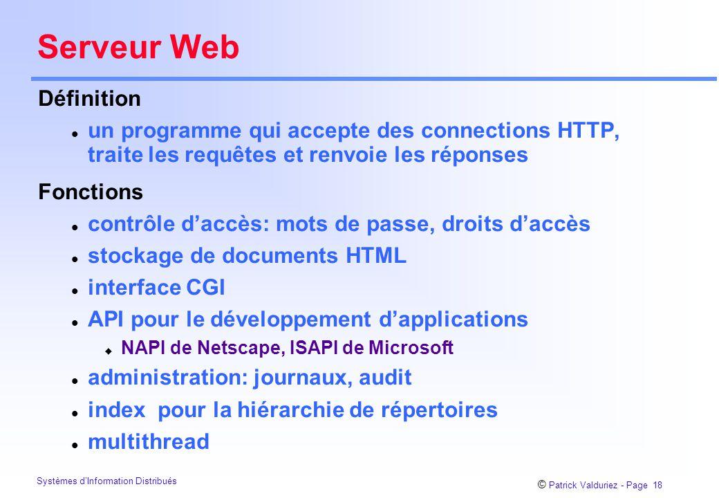 Serveur Web Définition