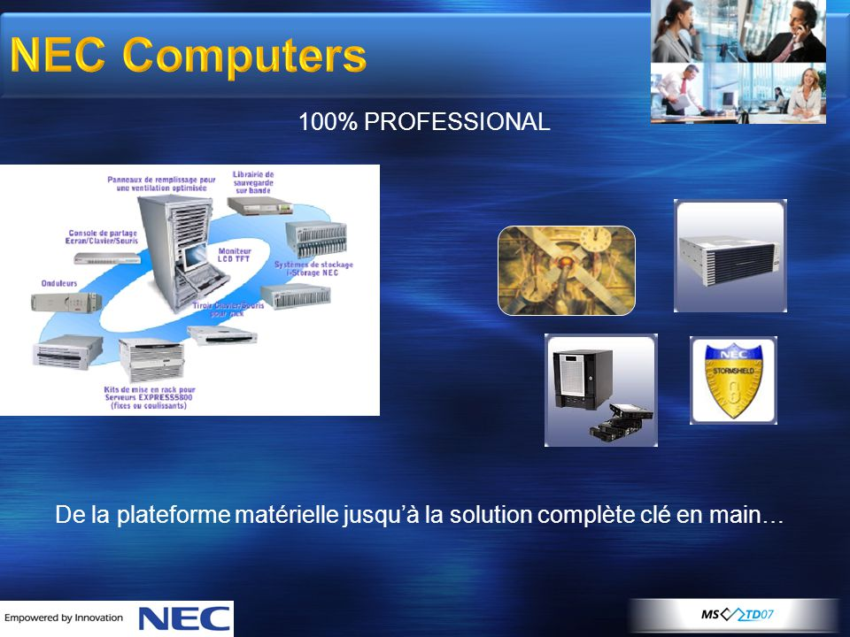 NEC Computers 100% PROFESSIONAL
