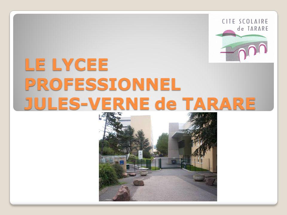 LE LYCEE PROFESSIONNEL JULES-VERNE de TARARE