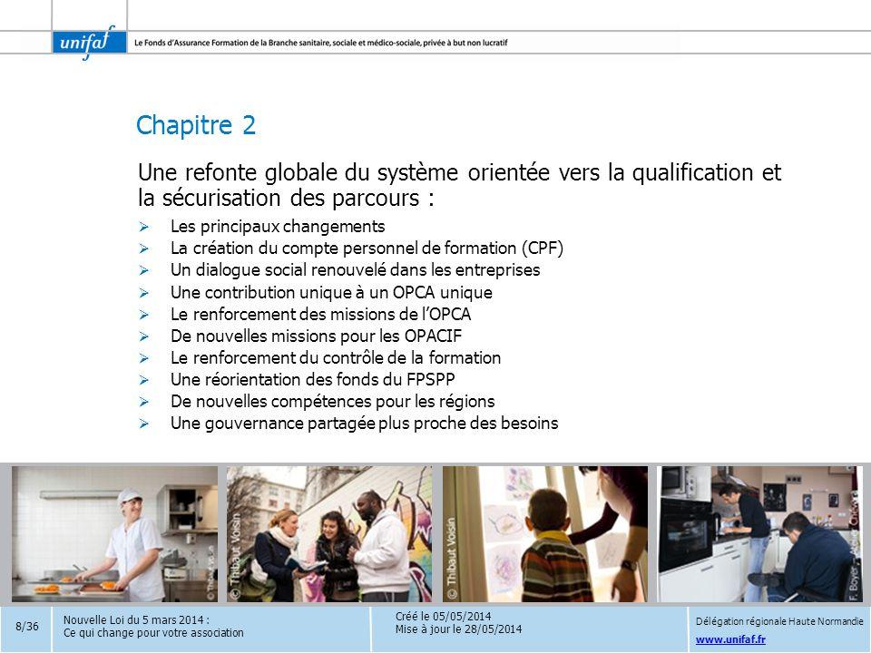 Une refonte globale du système orientée vers la qualification et la sécurisation des parcours :