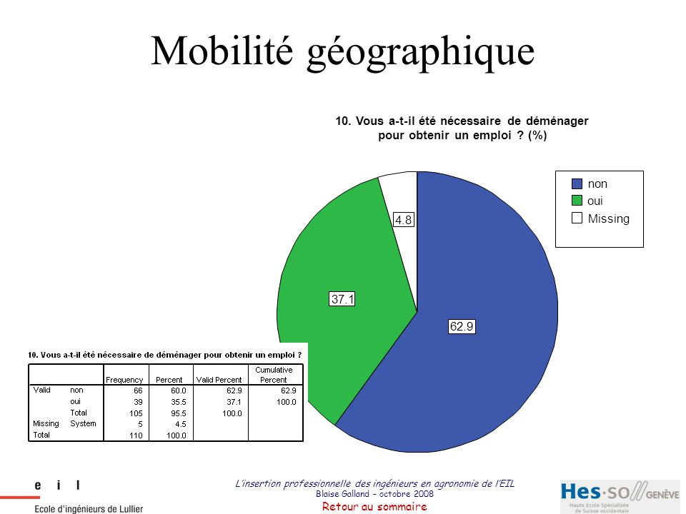 Mobilité géographique