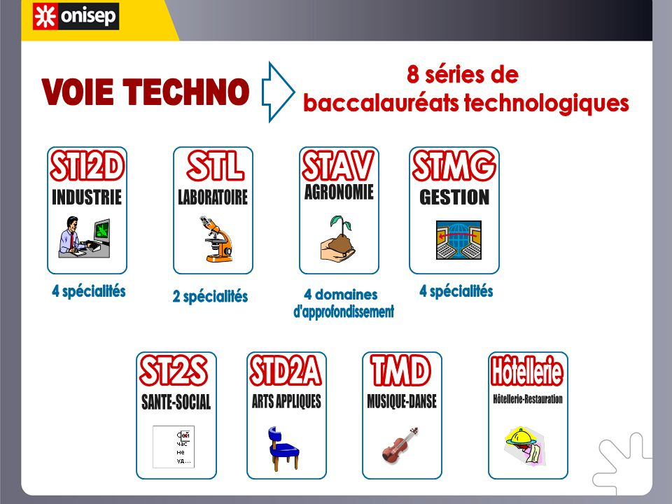 baccalauréats technologiques