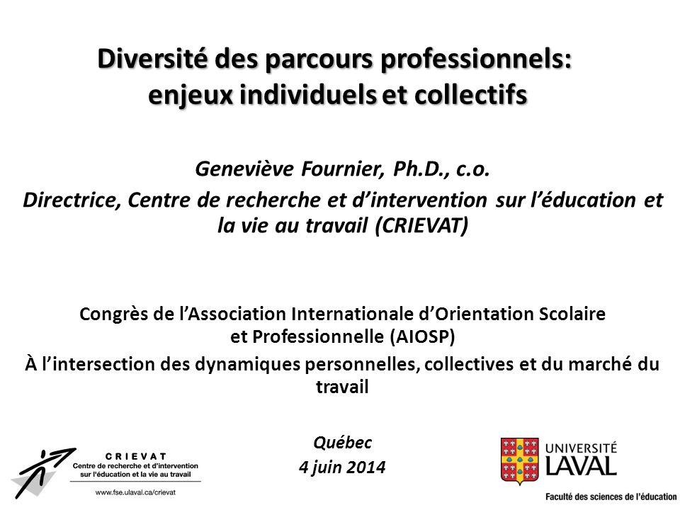 Geneviève Fournier, Ph.D., c.o.