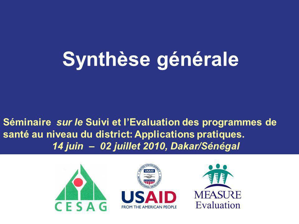 14 juin – 02 juillet 2010, Dakar/Sénégal