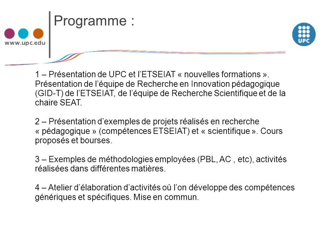 Programme :