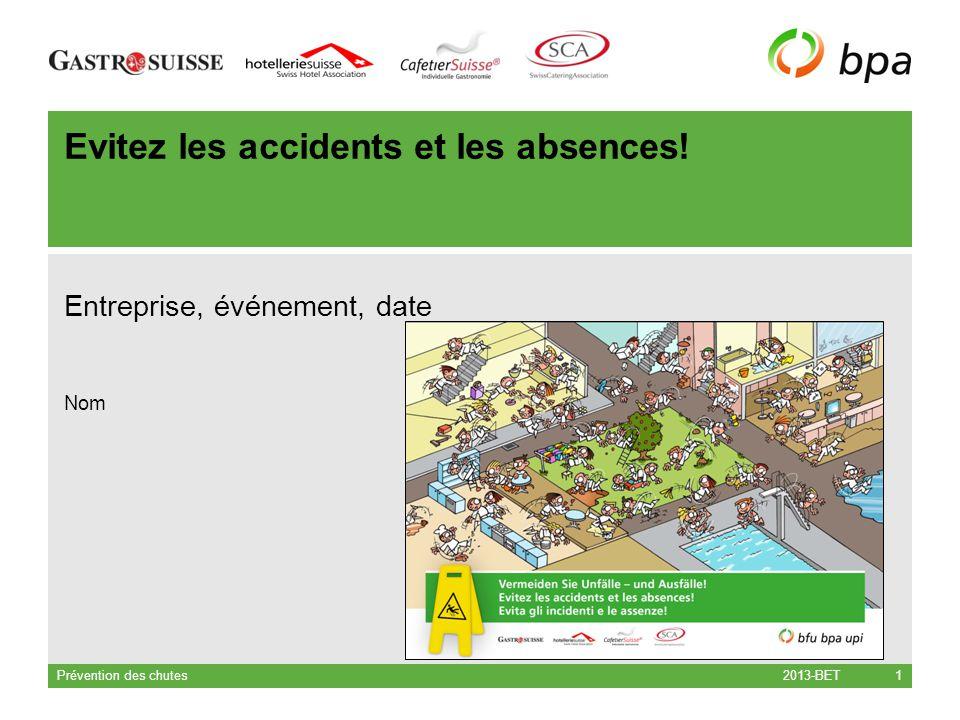 Evitez les accidents et les absences!