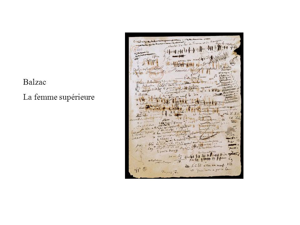 Balzac La femme supérieure