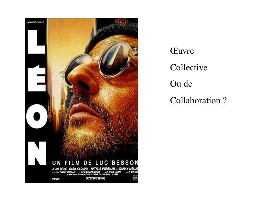 Œuvre Collective Ou de Collaboration