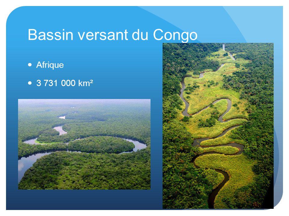 Bassin versant du Congo