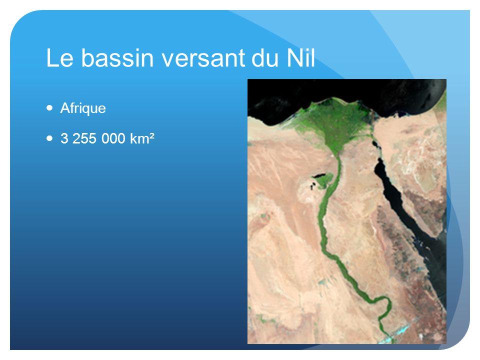 Le bassin versant du Nil