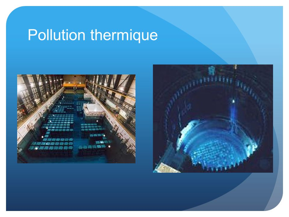Pollution thermique