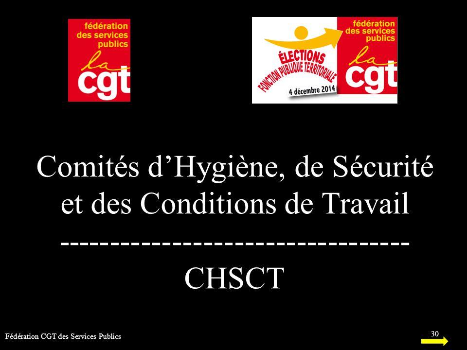 Comités d'Hygiène, de Sécurité et des Conditions de Travail