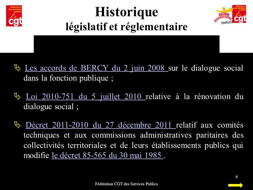 législatif et réglementaire