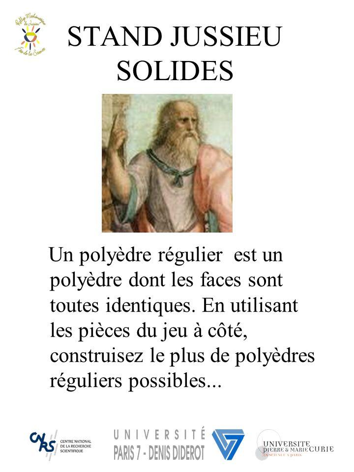 STAND JUSSIEU SOLIDES