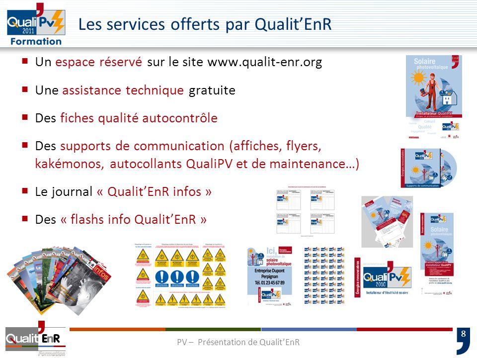 Les services offerts par Qualit'EnR