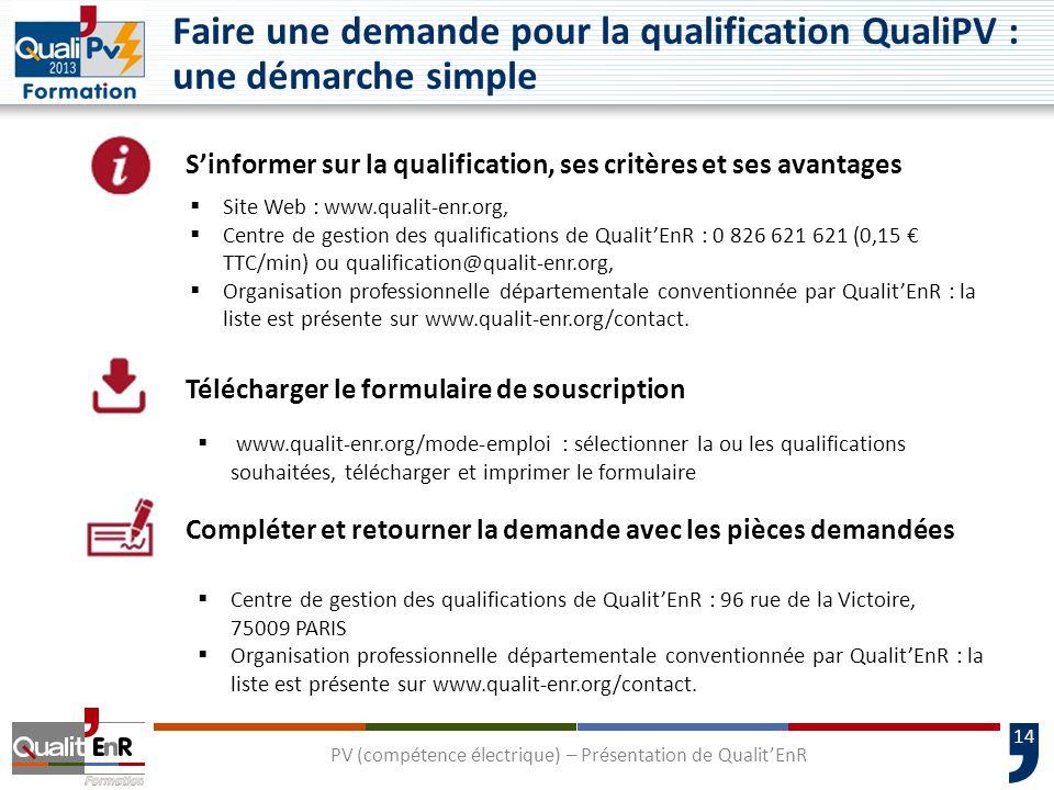 Faire une demande pour la qualification QualiPV : une démarche simple