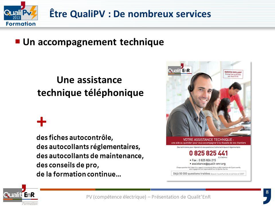 Être QualiPV : De nombreux services