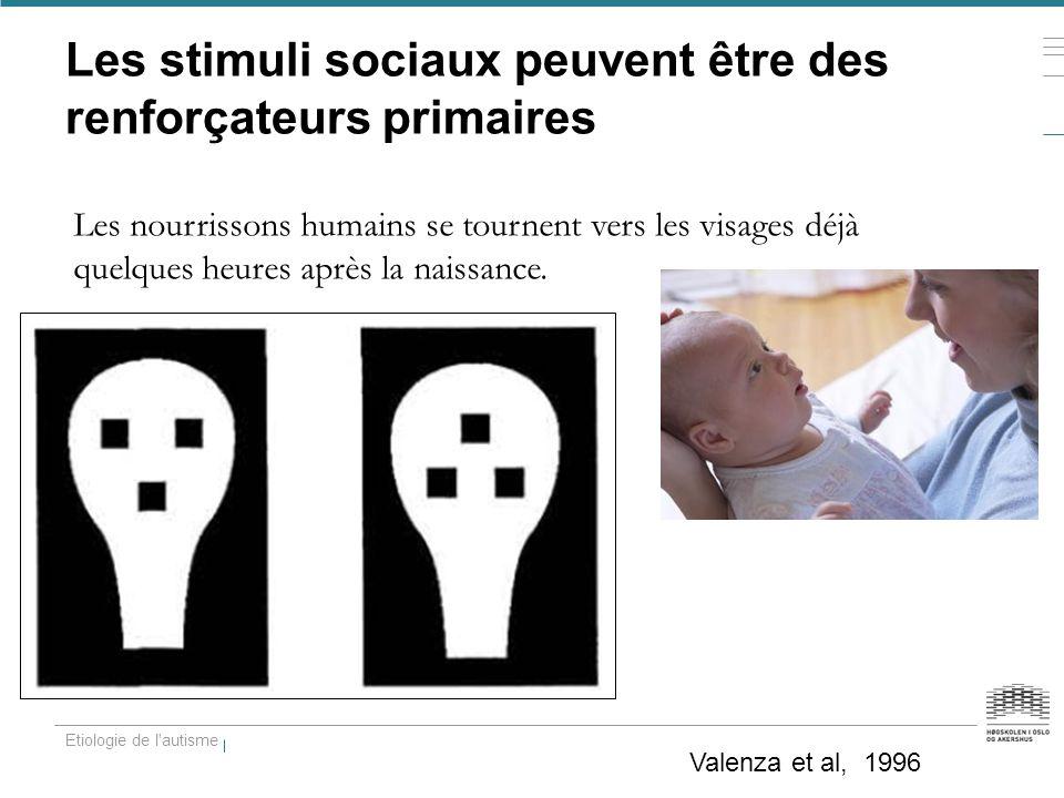 Les stimuli sociaux peuvent être des renforçateurs primaires
