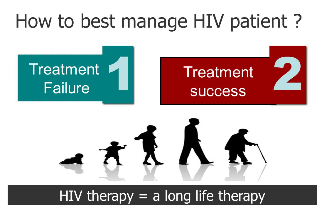 How to best manage HIV patient