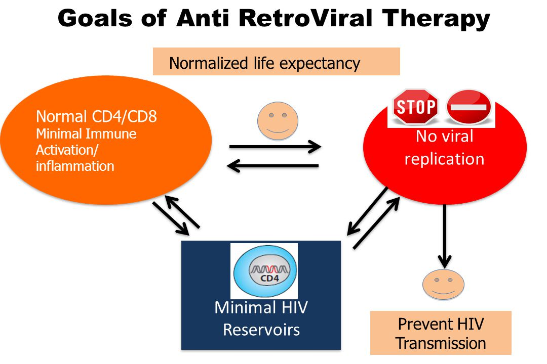 Goals of Anti RetroViral Therapy