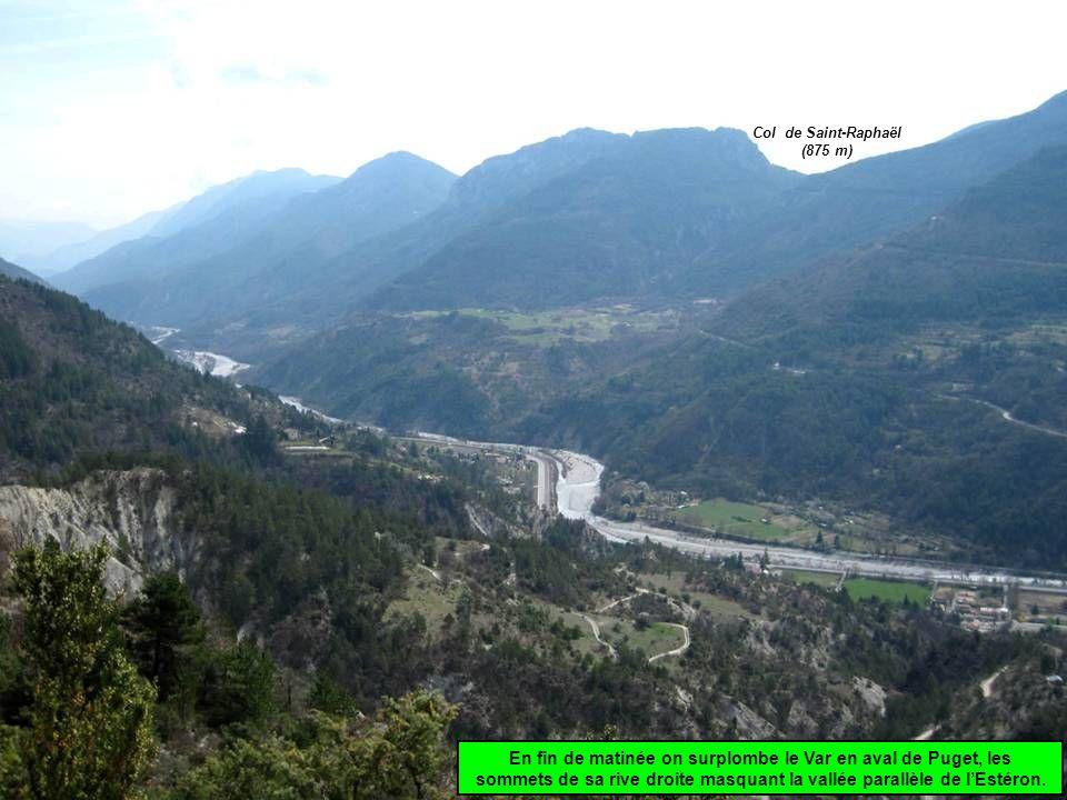 Col de Saint-Raphaël (875 m)