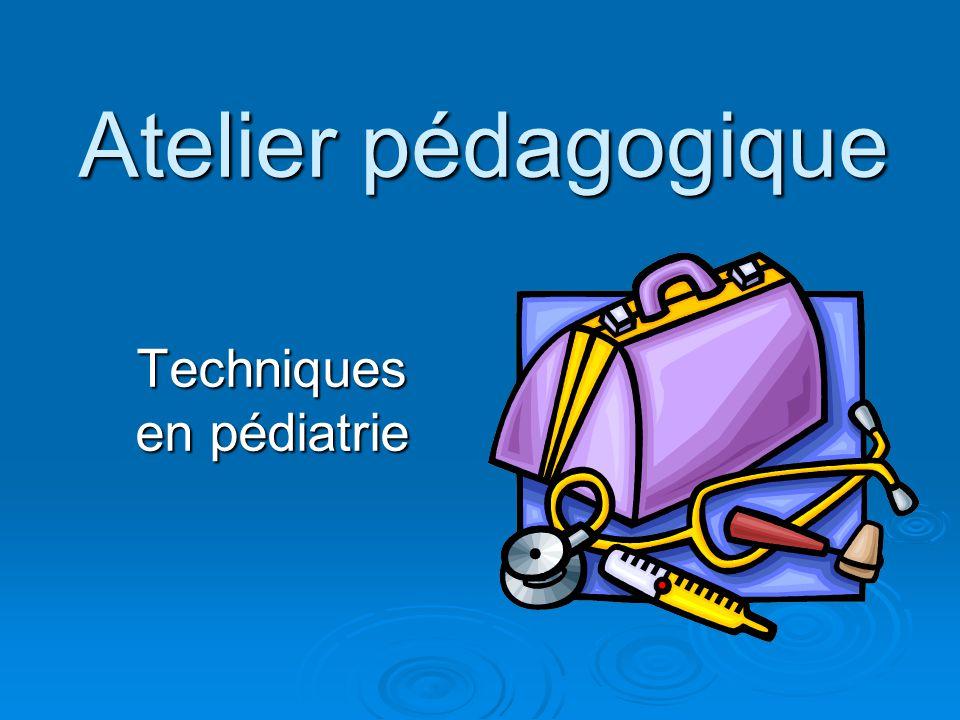 Techniques en pédiatrie