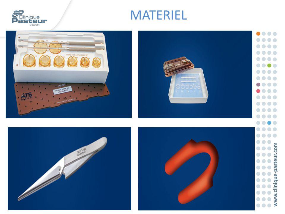 MATERIEL Des éléments sont nécessaires à la réalisation d'une implantation: