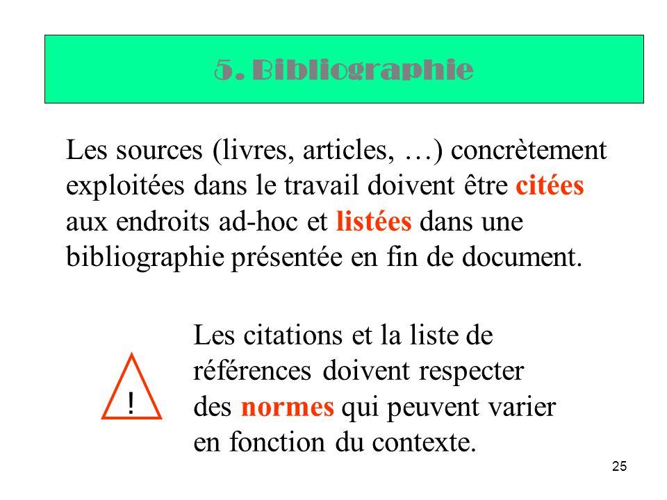 5. Bibliographie