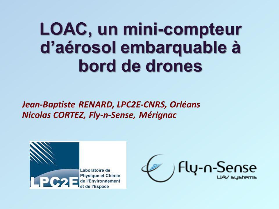 LOAC, un mini-compteur d'aérosol embarquable à bord de drones