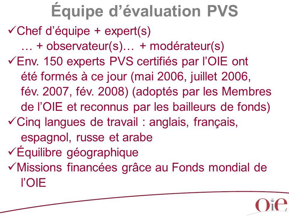 Équipe d'évaluation PVS