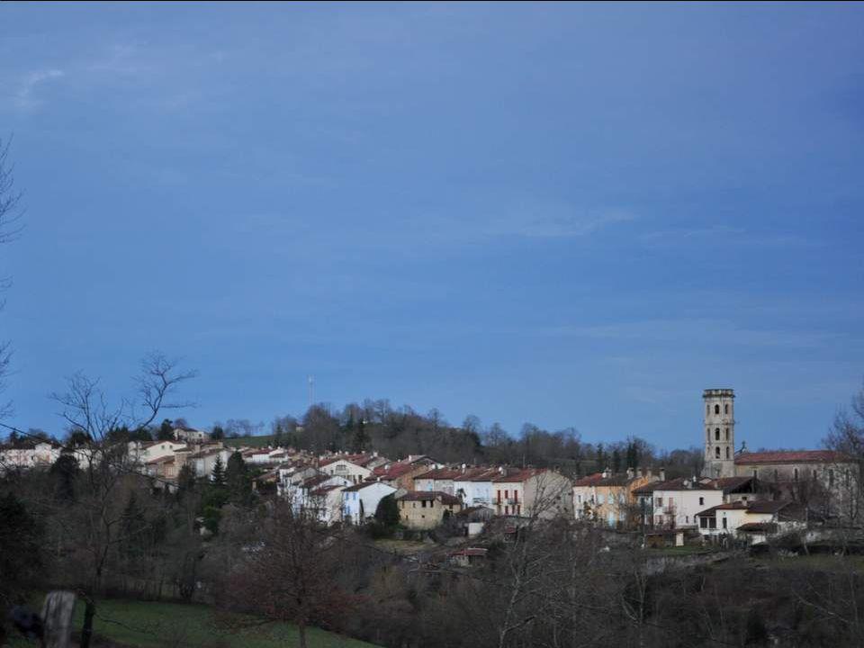 Cette partie de l'Ariège est une région de châteaux