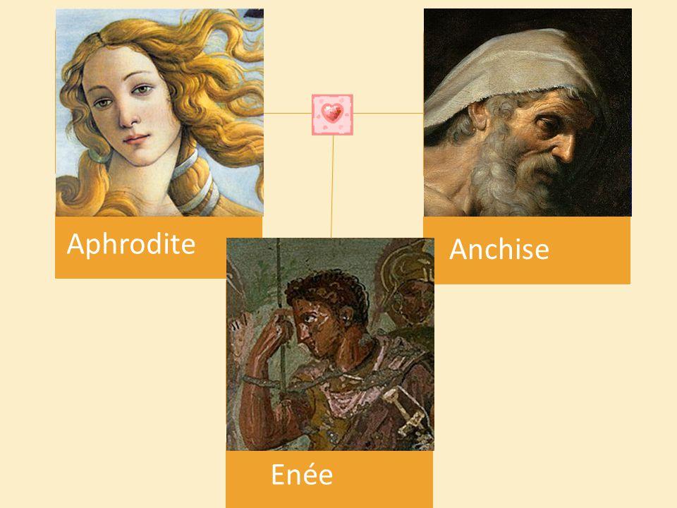 Aphrodite Anchise Enée