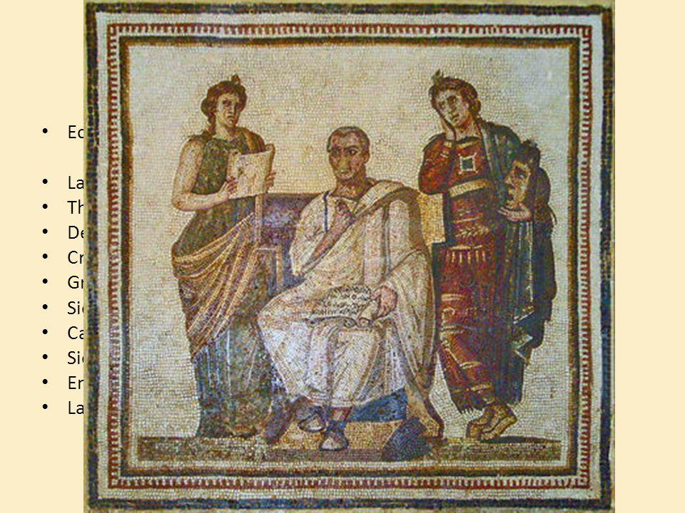 Ses périples Ecrits = Enéide de Virgile = Epopée en vers
