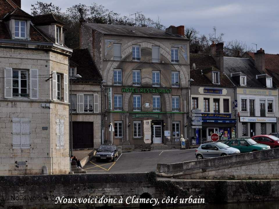 Nous voici donc à Clamecy, côté urbain
