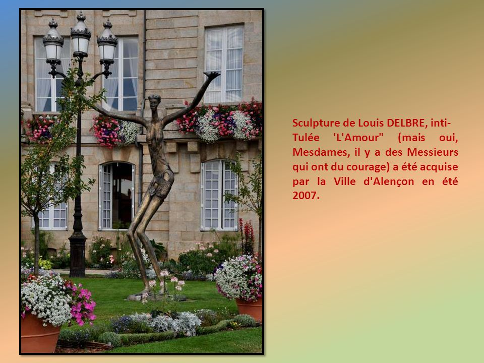 Sculpture de Louis DELBRE, inti-