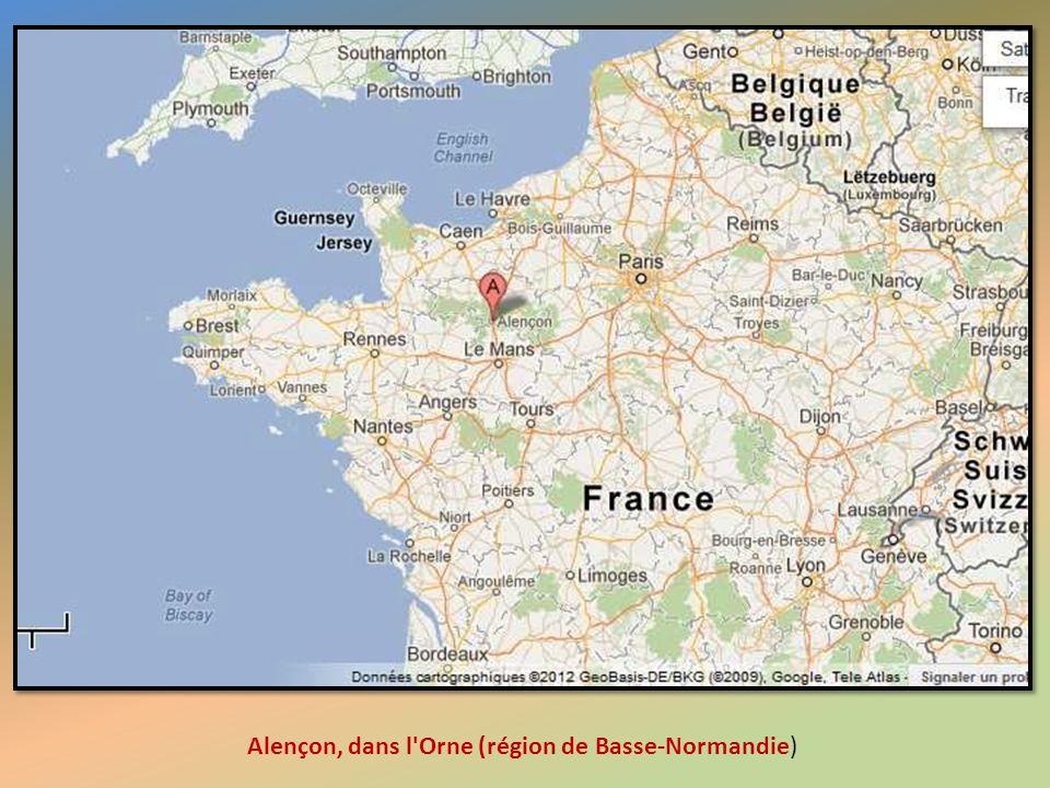 Alençon, dans l Orne (région de Basse-Normandie)