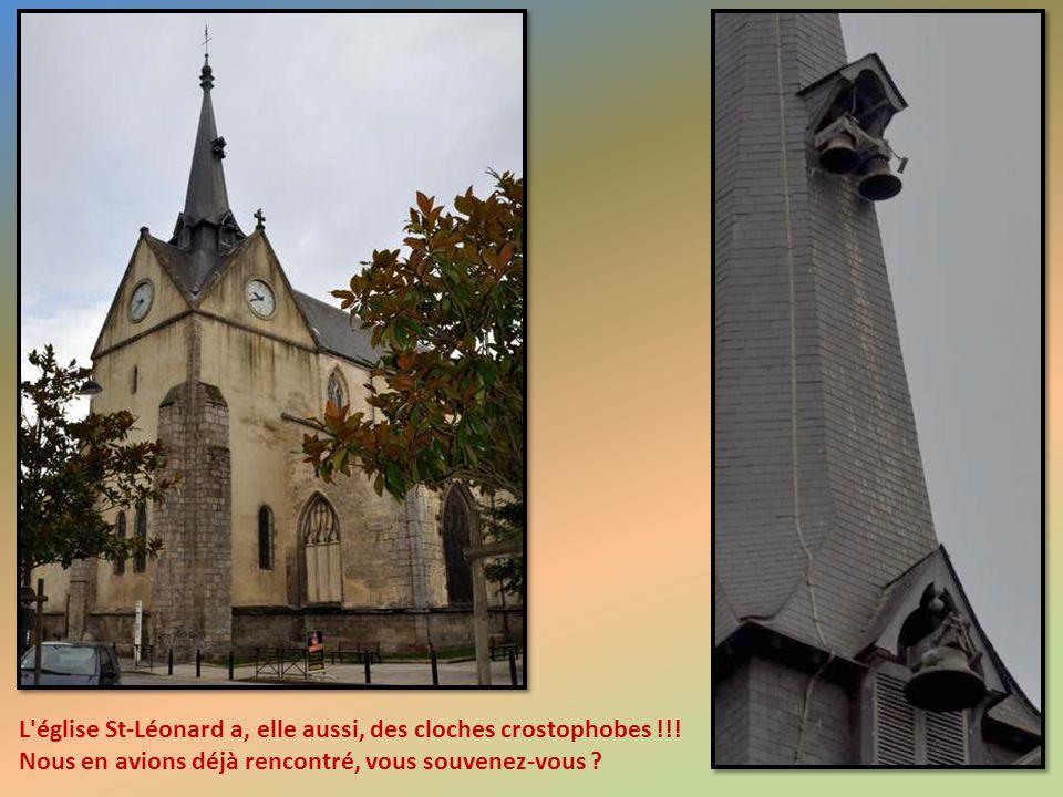L église St-Léonard a, elle aussi, des cloches crostophobes