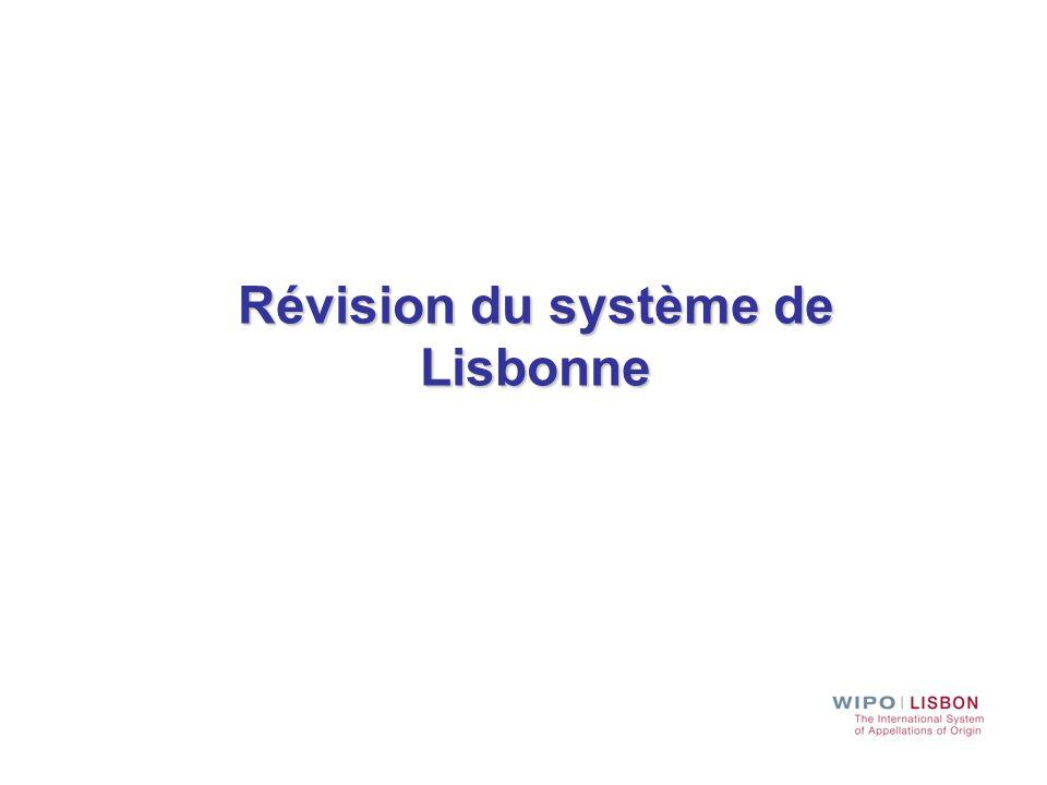 Révision du système de Lisbonne