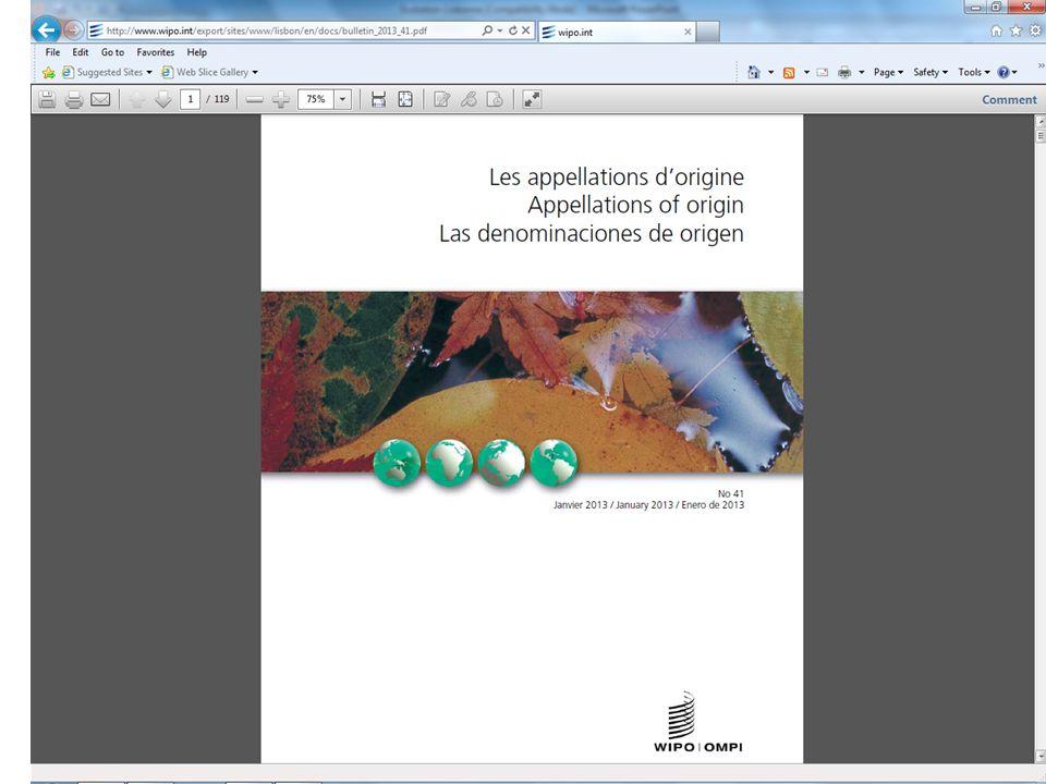 Bulletin Les Appellations d Origine