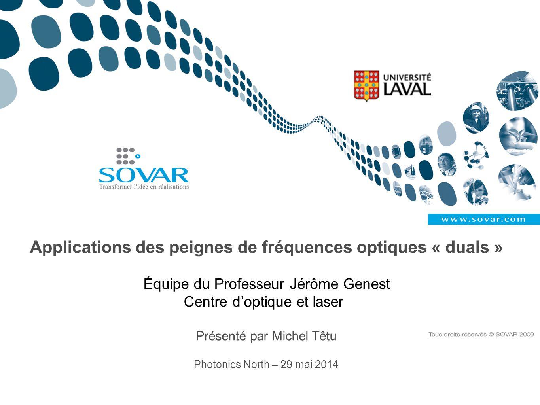 Applications des peignes de fréquences optiques « duals »