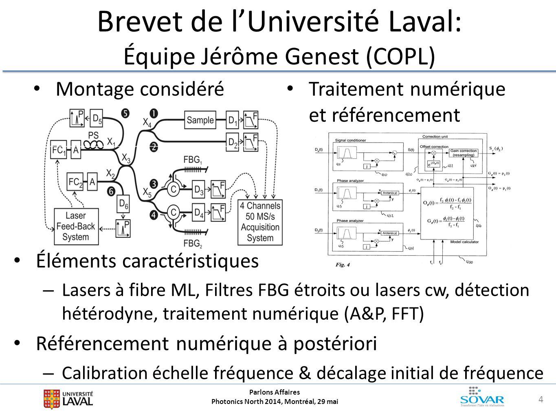 Brevet de l'Université Laval: Équipe Jérôme Genest (COPL)