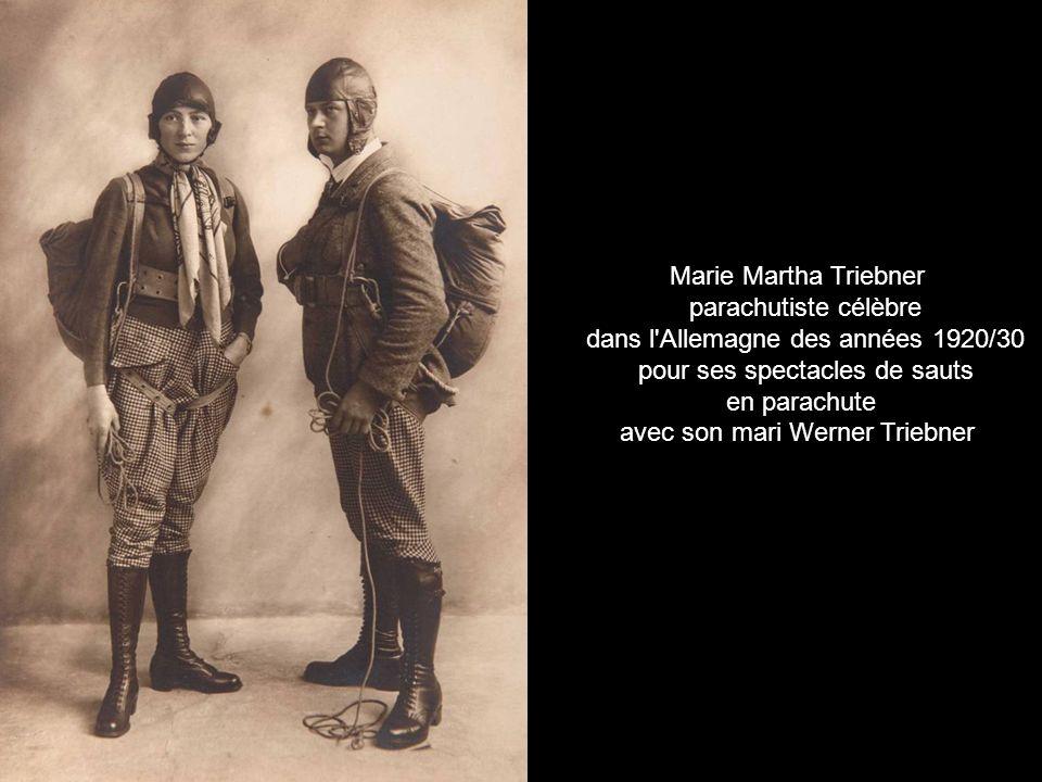dans l Allemagne des années 1920/30 pour ses spectacles de sauts