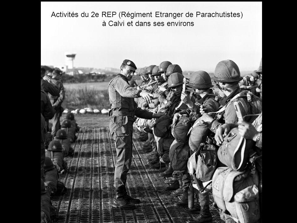 Activités du 2e REP (Régiment Etranger de Parachutistes)