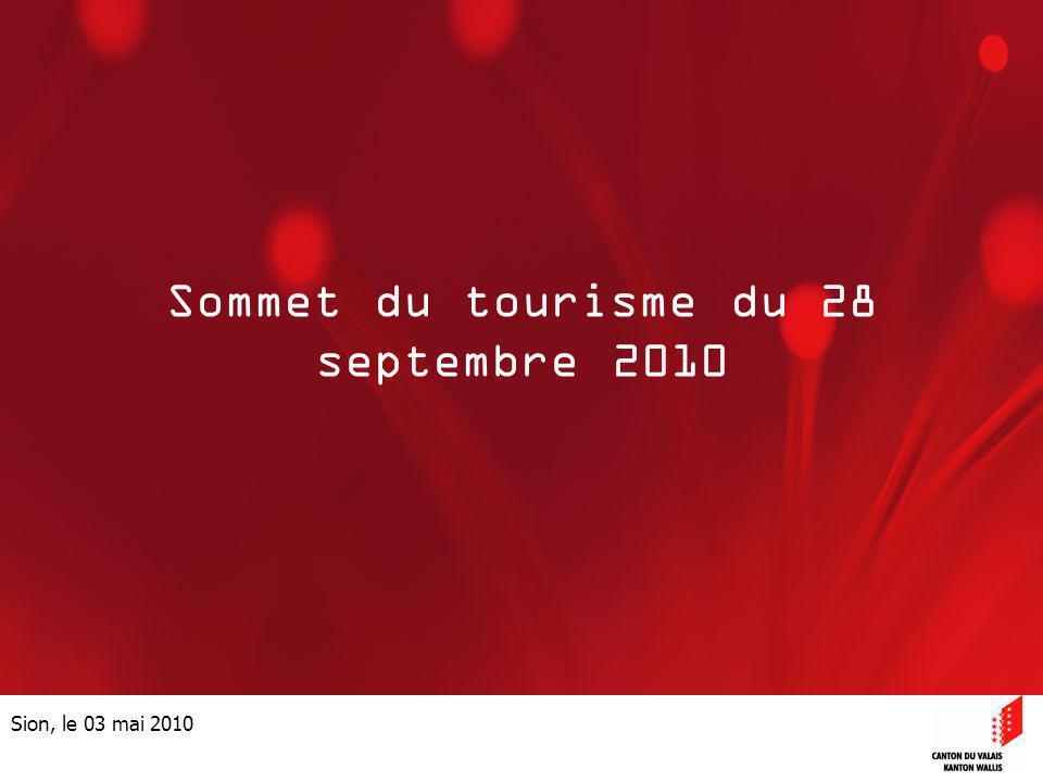 Sommet du tourisme du 28 septembre 2010