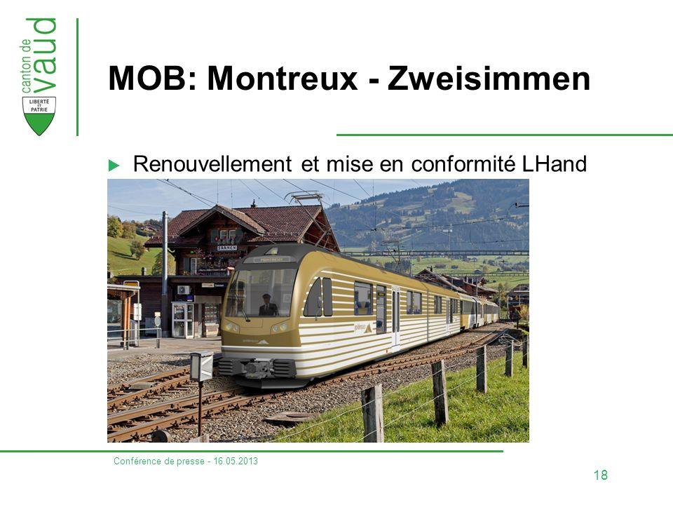 MOB: Montreux - Zweisimmen