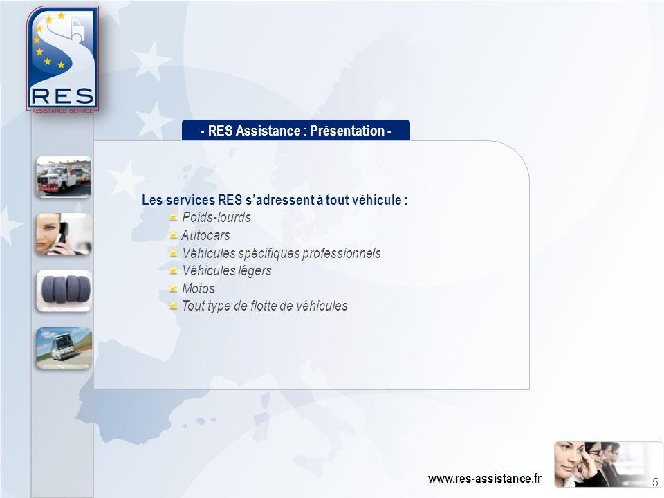 - RES Assistance : Présentation -