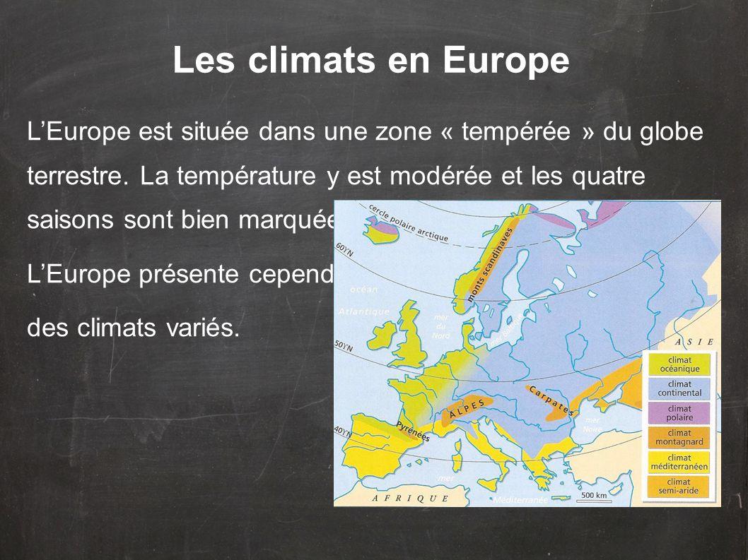 Les climats en Europe